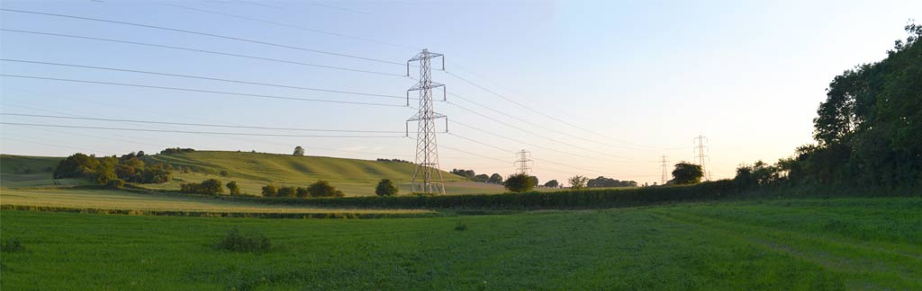 Planning and assessing routes for major electrical transmission infrastructure