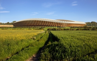 LUC appointed landscape architect for Forest Green Stadium