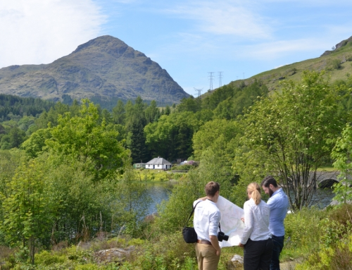 LUC working with SPEN and SSEN to improve views in Scotland's most valued landscapes