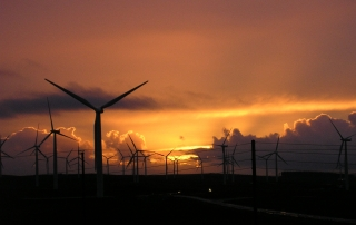 LUC involved in reviewing the consideration of light and shadow effects from wind turbines