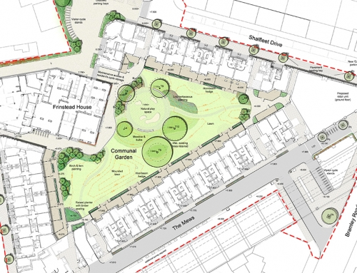 RIBA London award for Peabody Silchester after LUC landscape masterplan