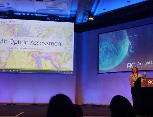LUC celebrates GIS anniversary with ESRI