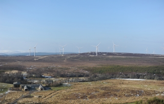 LUC assists with design and LVIA for Cairn Duhie Wind Farm