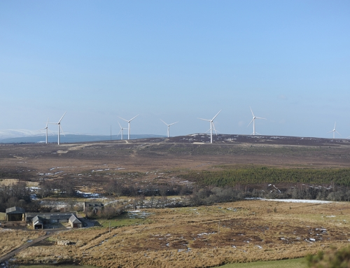 LUC assists with landscape design and LVIA for Cairn Duhie Wind Farm