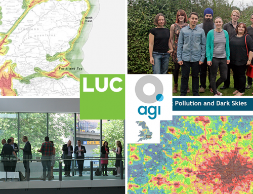 LUC sponsoring GIS meet-up in Bristol