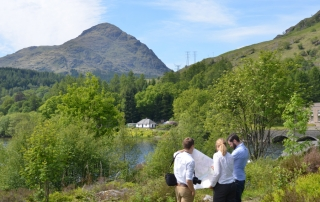 LUC working with SPEN and SSEN to improve views in some of Scotland's most valued landscapes