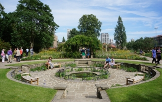 Kennington Park Flower Garden