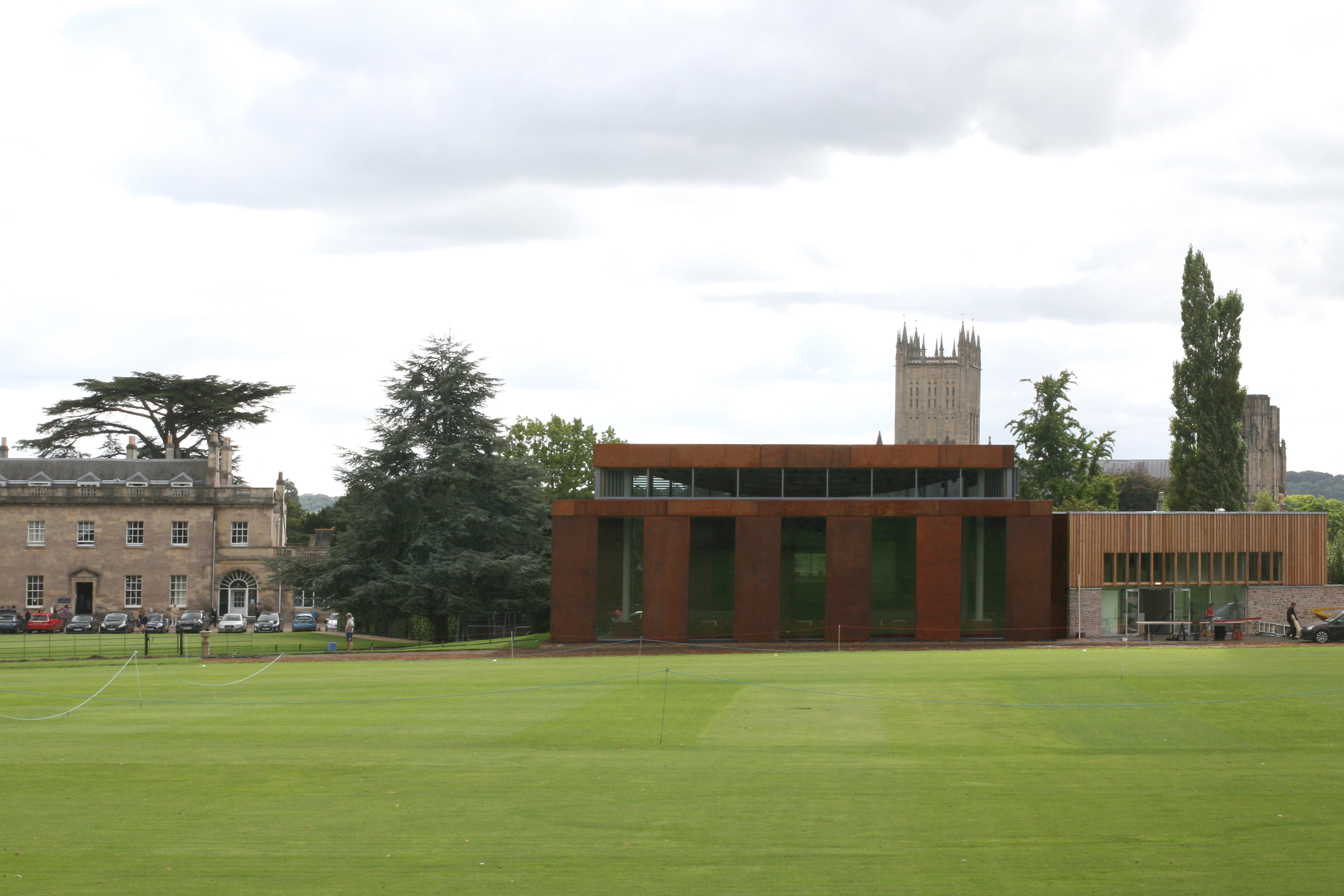 Cedars Hall opens at Wells Cathedral School