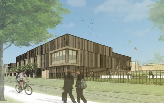 King Edwards Sports Centre. Credit: BDP