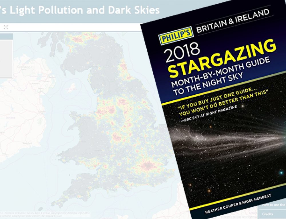 LUC featured in Philip's 2018 Stargazing Guide