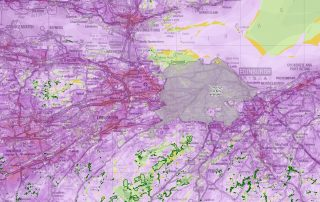 LUC completes Tranquillity Mapping of the Scottish Central Belt