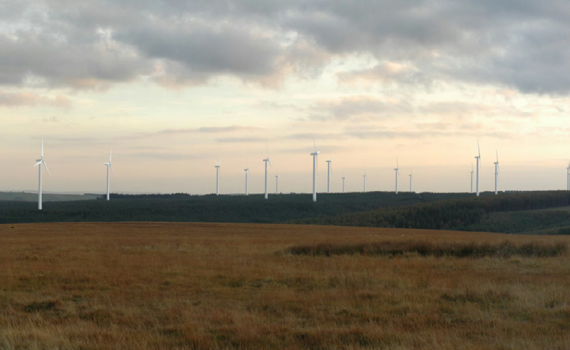 Brechfa Forest West wind farm