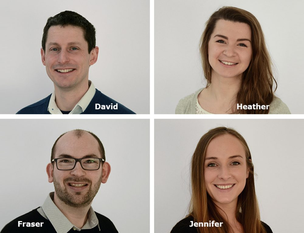 Meet our talented new Glasgow staff