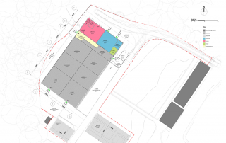 Ground floor planning drawing. Image courtesy of Ryder Architecture.