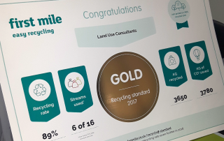 First Mile Recycling Gold