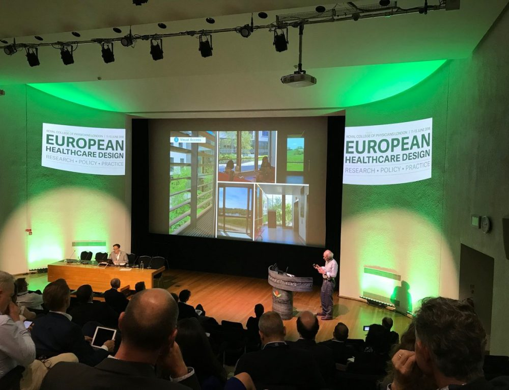 LUC landscape architects speak at European Healthcare Design 2018