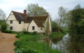 Willy Lott's Cottage, Dedham Vale. Credit: Karen Roe, Flickr