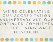 LUC celebrates a year of Living Wage commitment