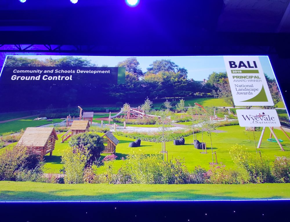 Calverley Adventure Grounds wins BALI National Landscape award