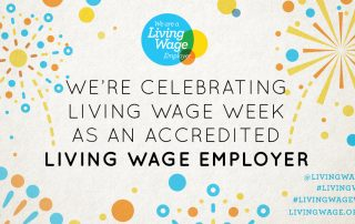 LUC celebrates two years of Real Living Wage pledge