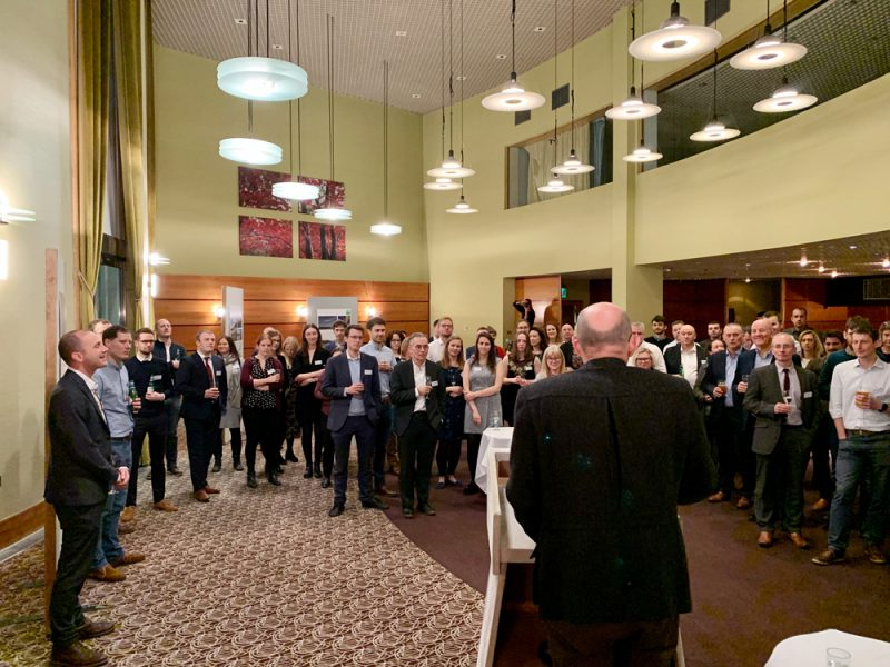 LUC celebrates 40 years in Scotland with drinks reception