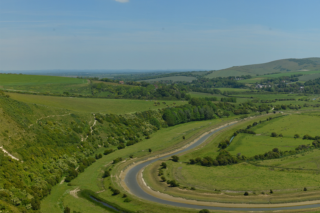 High And Over Cuckmere, South Downs