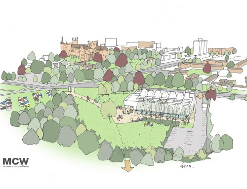 LUC developing landscape proposals for University of Peterborough
