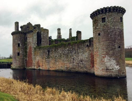 LUC developing conservation management plan for Caerlaverock Castle