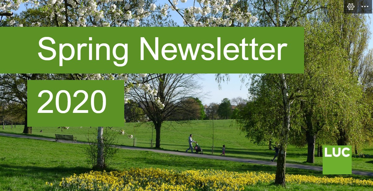 LUC Spring Newsletter 2020