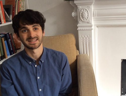 LUC landscape architect Samuel Cortis talks about his travelling research