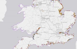 Increasing our understanding of heritage assets at risk from coastal processes in England